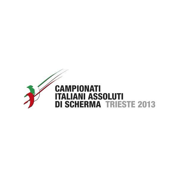 Studio Mark logo Campionati Italiani Assoluti di Scherma Trieste 2013