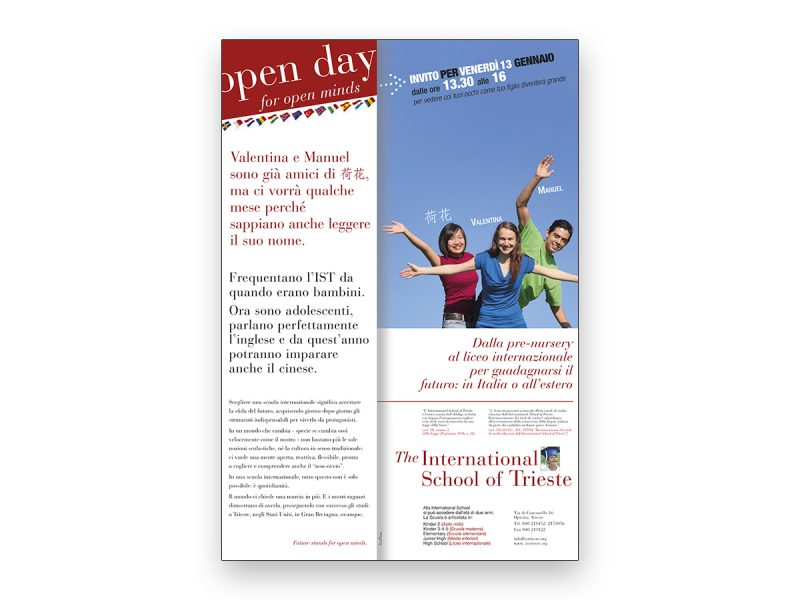 Studio Mark ADV Open day International School of Trieste