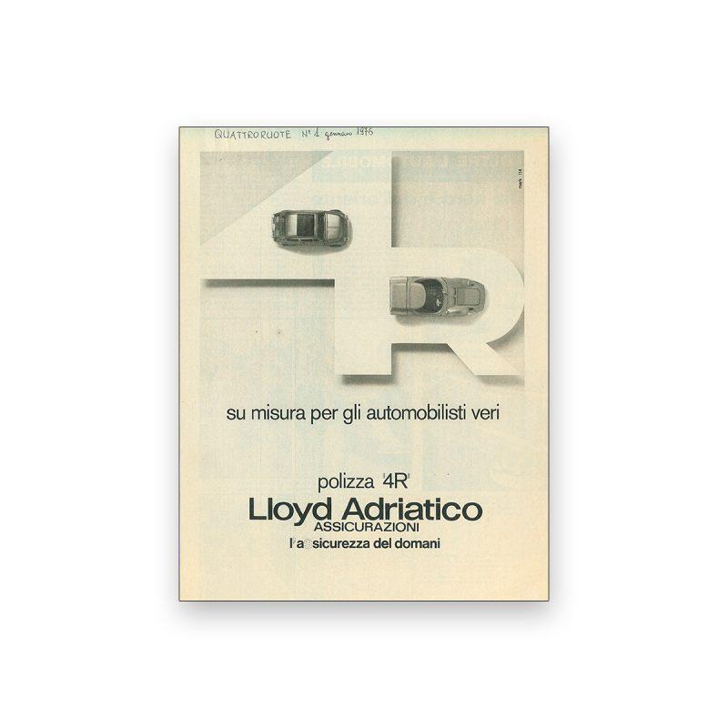 Studio Mark annuncio Lloyd Adriatico 4R