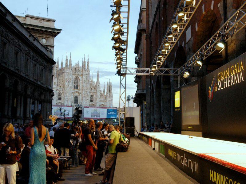 Studio Mark evento Gran Gala di scherma Milano